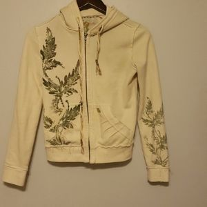 Miss me embroided hoodie size small